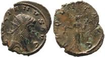 Ancient Coins - Gallienus silvered antoninianus - AEQVIT AVG