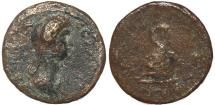 Ancient Coins - Roman Provincial coin of Domitia - Lydia, Nakrasa under Domitian - Rare