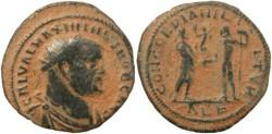 Ancient Coins - Galerius as Caesar - Alexandria Mint
