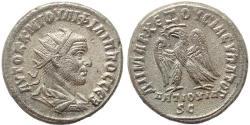 Ancient Coins - Roman Provincial coin of Philip I AR Tetradrachm of Antioch, Syria