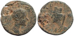 Ancient Coins - Gordian III AE21 of Carrhae in Mesopotamia