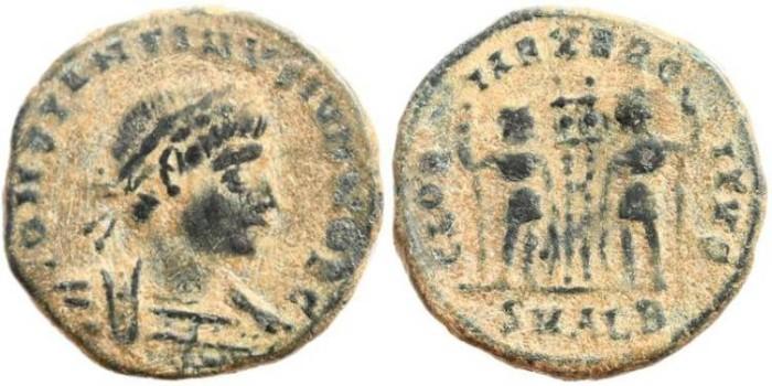 Ancient Coins - Constantine II GLORIA EXERCITVS - Alexandria Mint