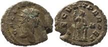 Ancient Coins - Gallienus silvered antoninianus - SECVRIT PERPET
