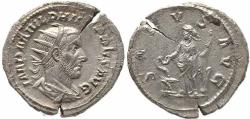 Ancient Coins - Roman coin of Philip I AR silver antoninianus - SALVS AVG