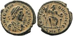 Ancient Coins - Gratian - CONCORDIA AVGGG - Cyzicus