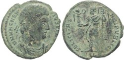 Ancient Coins - Ancient Roman coin of Magnentius -  FELICITAS REIPVBLICE