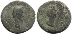 Ancient Coins - Antoninus Pius & Faustina - Flaviopolis in Cilicia