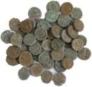 Ancient Coins - 50 Roman Egyptian Potin Tetradrachms