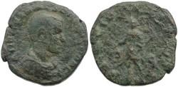 Ancient Coins - Herennius Etruscus - Son of Trajan Decius 251AD AE sestertius - RARE