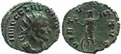 Ancient Coins - Roman coin of Claudius II Gothicus - VIRTVS AVG