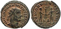 Ancient Coins - Roman coin of Maximian - CONCORDIA MILITVM