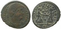 Ancient Coins - Magnentius 350 to 353AD Bronze centenionalis