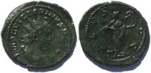 Ancient Coins - Victorinus Antoninianus 268-270AD large flan for the type