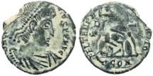 Ancient Coins - Roman Empire - Constantius II - FEL TEMP REPARATIO - Arelate
