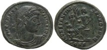 Ancient Coins - Roman coin of Constantine I - CONSTANTINIANA DAFNE - Constantinople