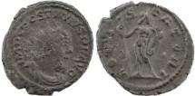 Ancient Coins - Postumus silvered antoninianus - IOVI STATORI