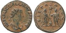 Ancient Coins - Roman coin of Gallienus antoninianus - PIETAS AVGG