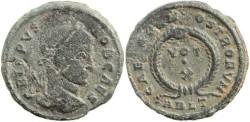 Ancient Coins - Crispus CAESARVM NOSTRORVM VOT X - ARLT Mintmark struck in 322AD