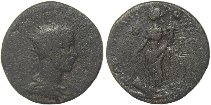 Ancient Coins - Roman Provincial coin of  Philip I Ae33 - Cilicia, Tarsus