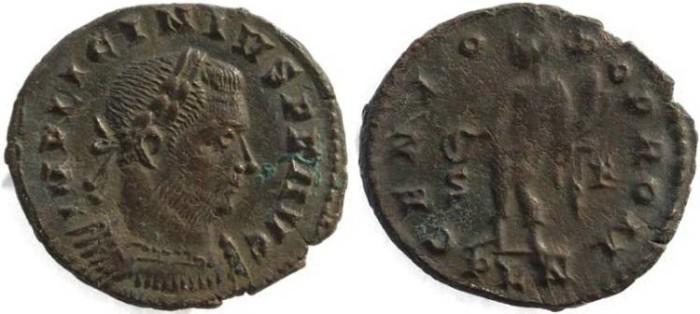 Ancient Coins - Licinius I - GENIO POP ROM - London Mint