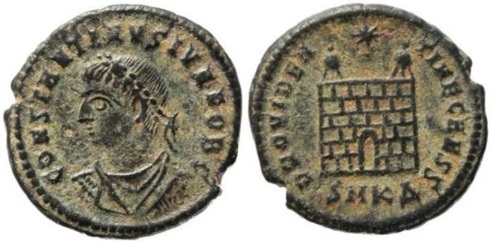 Ancient Coins - Roman Empire Constantine II - PROVIDENTIAE CAESS-  Cyzicus Mint