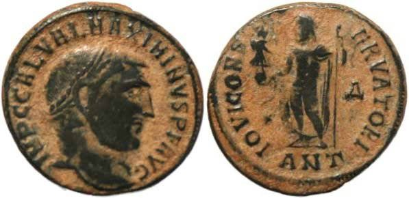 Ancient Coins - Maximinus II as Augustus - Antioch Mint, nice and heavy for the type