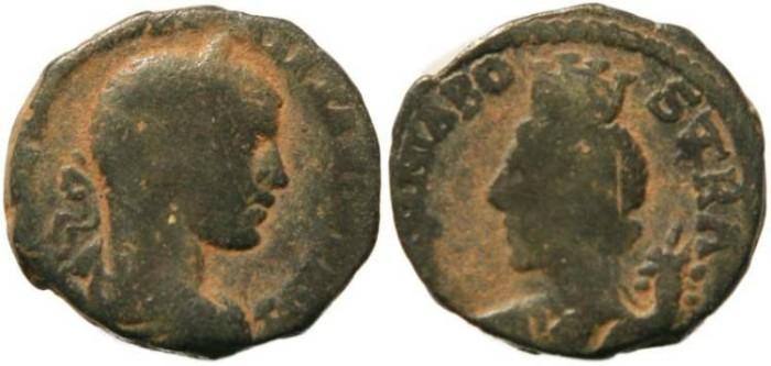 Ancient Coins - Severus Alexander - Bostra, Decapolis, Arabia - AE19