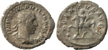 Ancient Coins -  Philip I AR Silver antoninianus - ADVENTVS AVGG