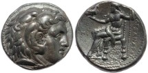Ancient Coins - Ancient Seleucid Tetradrachm of Seleukos I Nikator - minted in Babylon