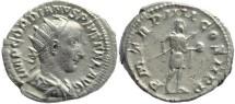 Ancient Coins - Gordian III AR silver antoninianus - P M TR P IIII COS II P P
