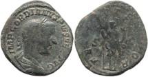 Ancient Coins - Gordian III AE Sestertius - FELICIT TEMPOR, S-C - RIC 328a, Cohen 73