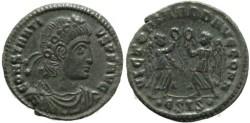 Ancient Coins - Roman coin of Constantius II - VICTORIAE DD AVGG Q NN - Siscia