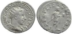 Ancient Coins - Gordian III silver antoninianus - SAECVLI FELICITAS