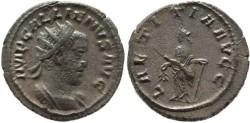 Ancient Coins - Gallienus silver antoninianus - LAETITIA AVGG