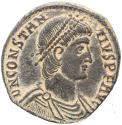 Ancient Coins - Roman coin of Constantius II - FEL TEMP REPARATIO - Cyzicus