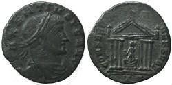 Ancient Coins - Maxentius follis - Ticinum Mint