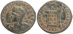 Ancient Coins - Roman coin of Crispus -  BEATA TRANQVILLITAS - Treveri