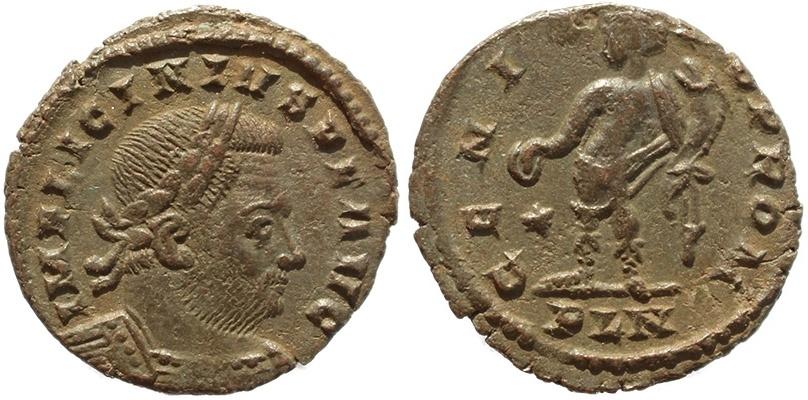 Ancient Coins - Roman coin of Licinius I -  GENIO POP ROM - London