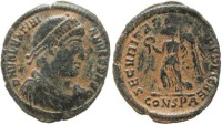 Ancient Coins - Valentinian I 364-375AD - Constantinople Mint