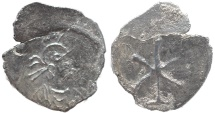 Ancient Coins - Anonymous AR silver 1/3 siliqua - Constantinople