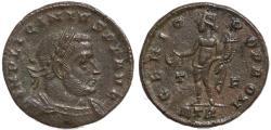 Ancient Coins - Roman coin of Licinius I  - GENIO POP ROM - Treveri Mint