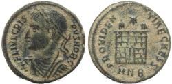 Ancient Coins - Roman coin of Crispus - PROVIDENTIAE CAESS - Nicomedia