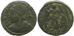 Ancient Coins - Commemorative Series 330-354AD Æ follis - Treveri mint