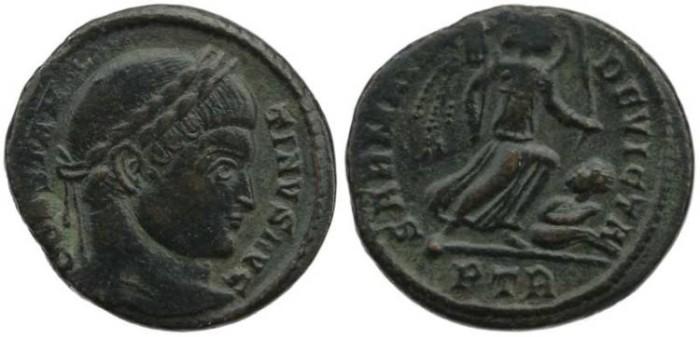Ancient Coins - Constantine I - SARMATIA DEVICTA - Treveri