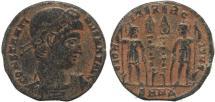 Ancient Coins - Ancient Roman coin of Constantine I - GLORIA EXERCITVS - Nicomedia