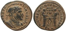 Ancient Coins - Ancient Roman coin of Constantine I - VICTORIAE LAETAE PRINC PERP - London