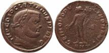 Ancient Coins - Roman coin of Diocletian Ae large follis - GENIO POPVLI ROMANI - Antioch