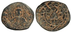 Ancient Coins - Anonymous Class K follis attributed to Alexius I  struck over a Class J follis