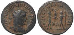 Ancient Coins - Roman coin of Maximianus antoninianus - CONCORDIA MILITVM