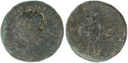 Ancient Coins - Trajan Ae As - TR POT COS II S C